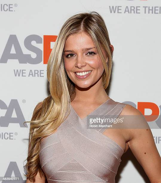 Model Danielle Knudson attends ASPCA's Annual Bergh Ball Gala at The Plaza Hotel on April 10 2014 in New York City