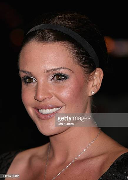 Model Danielle Lloyd attends the 17 Again film premiere at the Odeon West End cinema on March 26 2009 in London England