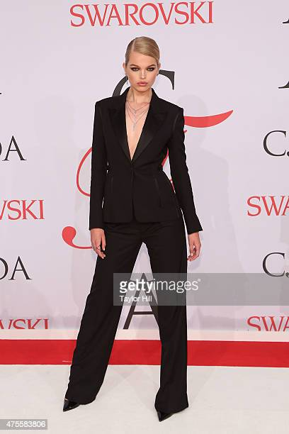 Model Daphne Groeneveld attends the 2015 CFDA Awards at Alice Tully Hall at Lincoln Center on June 1 2015 in New York City