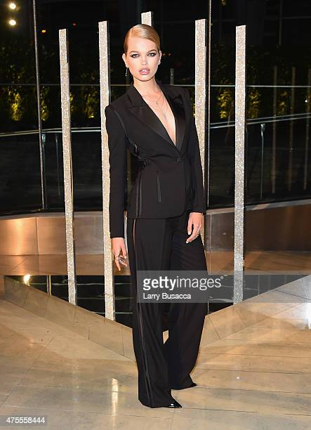 Model Daphne Groeneveld attends the 2015 CFDA Fashion Awards at Alice Tully Hall at Lincoln Center on June 1, 2015 in New York City.