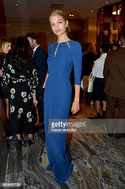 Model Daphne Groeneveld attends the The Daily Front Row's 4th Annual Fashion Media Awards at Park Hyatt New York on September 8, 2016 in New York...