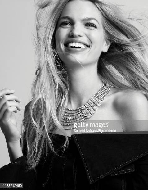 Model Daphne Groeneveld is photographed for Madame Figaro on June 16, 2018 in Paris, France. Necklace , top . PUBLISHED IMAGE. CREDIT MUST READ:...