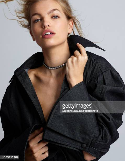 Model Daphne Groeneveld is photographed for Madame Figaro on June 16 2018 in Paris France Necklace shirt PUBLISHED IMAGE CREDIT MUST READ Satoshi...