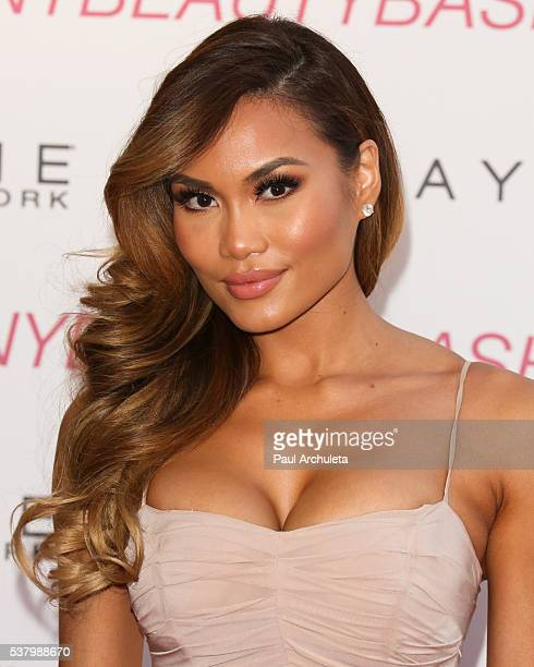 Model Daphne Joy attends the Maybelline New York Beauty Bash at The Line Hotel on June 3 2016 in Los Angeles California
