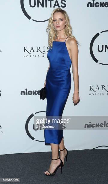 Model Daria Strokous attends the 2017 Unitas Gala at Capitale on September 12 2017 in New York City