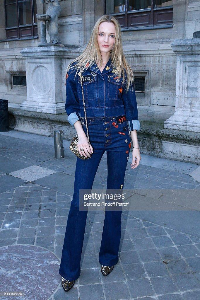 Sonia Rykiel : Arrivals - Paris Fashion Week Womenswear Fall/Winter 2016/2017