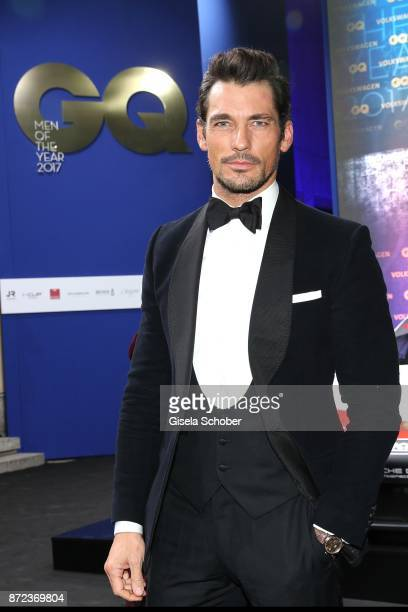 Model David Gandy during the GQ Men of the year Award 2017 at Komische Oper on November 9 2017 in Berlin Germany