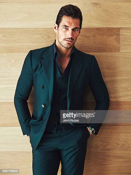 Model David Gandy is photographed for Esquire Latin America on July 1 2015 in Miami Florida