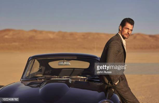 Model David Gandy is photographed for GIO Journal on November 27, 2017 in Palmdale, California.