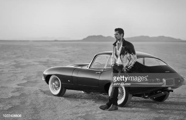 Model David Gandy is photographed for GIO Journal on November 27 2017 in Palmdale California
