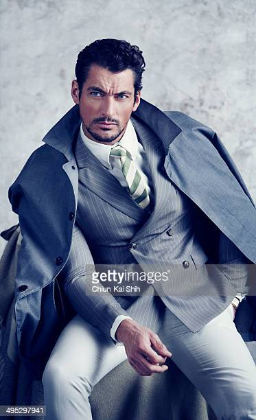 Model David Gandy is photographed for GQ Taiwan on February 1 2014 in New York City PUBLISHED IMAGE