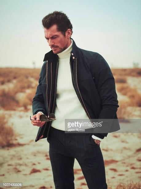 Model David Gandy is photographed for Nobelman magazine on November 27, 2017 in Palmdale, California.