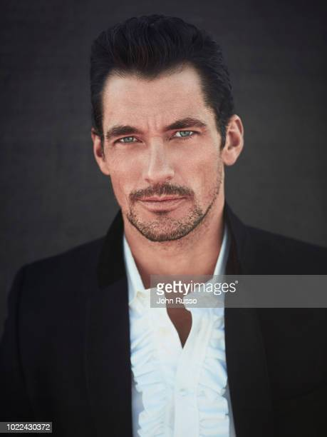 Model David Gandy is photographed for Nobelman magazine on November 27, 2017 in Palmdale, California.