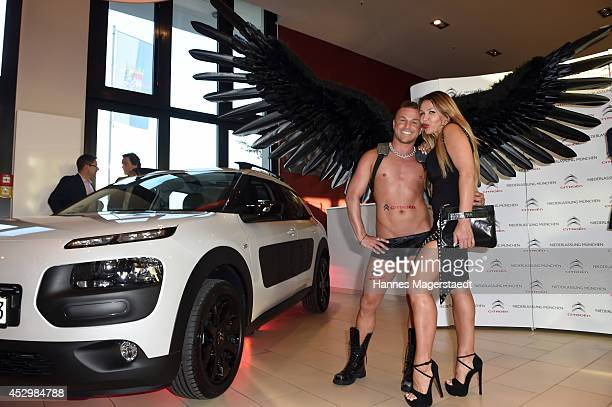 Model Davorka Tovilo attends the 'Citroen C4 Cactus' Munich Preview at Leonardo Royal Hotel on July 31 2014 in Munich Germany