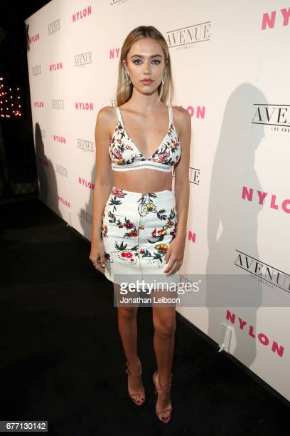 Model Delilah Belle Hamlin at the NYLON Young Hollywood Party at AVENUE Los Angeles on May 2 2017 in Los Angeles California