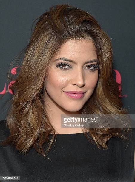 Model Denise Bidot attends Latina Magazine's Hollywood Hot List Party at Sunset Tower on October 2 2014 in West Hollywood California