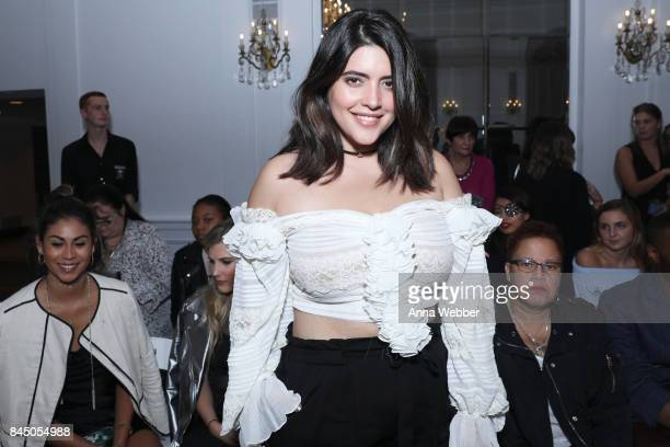 Model Denise Bidot attends the Anna Francesca Fashion Gallery during NYFW at Stewart Hotel on September 9 2017 in New York City
