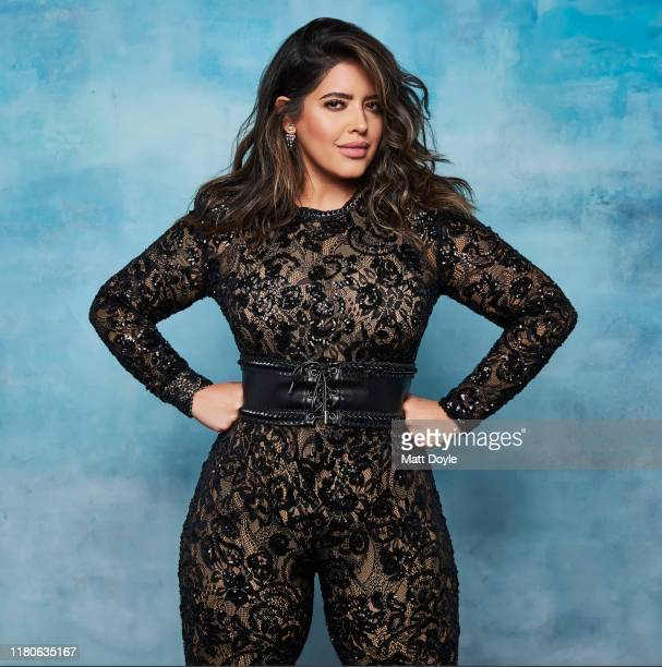 Model Denise Bidot is photographed for Hola USA Magazine on July 24 2019 in New York City