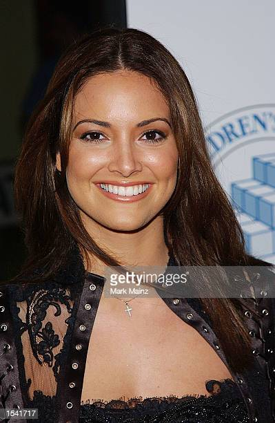 Model Denise Quinones arrives for the screening of 'Star Wars Episode II Attack of the Clones' May 12 2002 in New York City The Children's Aid...