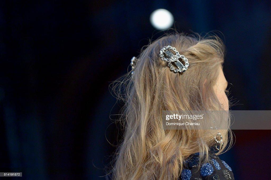 Sonia Rykiel : Runway - Paris Fashion Week Womenswear Fall/Winter 2016/2017 : News Photo