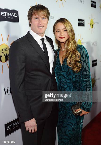Model Devon Aoki and James Bailey attend Dream for Future Africa Foundation Inaugural Gala honoring Franca Sozzani of VOGUE Italia at Spago on...