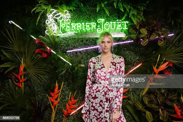 Model Devon Windsor attends PerrierJouet Celebrates Exclusive Nightlife Experience at Ora Nightclub on December 7 2017 in Miami Beach Florida