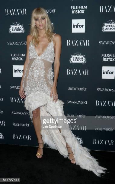 Model Devon Windsor attends the 2017 Harper's Bazaar Icons at The Plaza Hotel on September 8 2017 in New York City