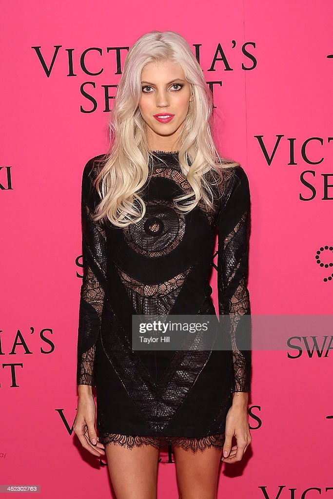Model Devon Windsor attends the after party for the 2013 Victoria's Secret Fashion Show at Lavo NYC on November 13, 2013 in New York City.