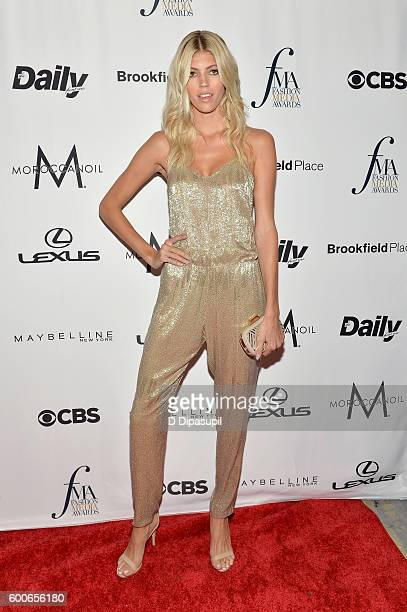Model Devon Windsor attends the The Daily Front Row's 4th Annual Fashion Media Awards at Park Hyatt New York on September 8 2016 in New York City