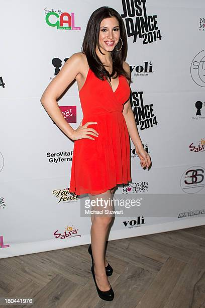 Model Diana Falzone attends the STYLE360 Spring/Summer 2014 Collections closing party at Suite 36 on September 12 2013 in New York City
