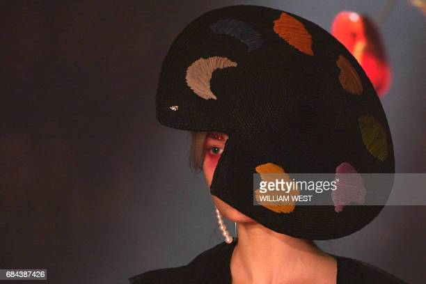 A model displays a creation from the Australian label Romance Was Born during Fashion Week Australia in Sydney on May 18 2017 / AFP PHOTO / William...