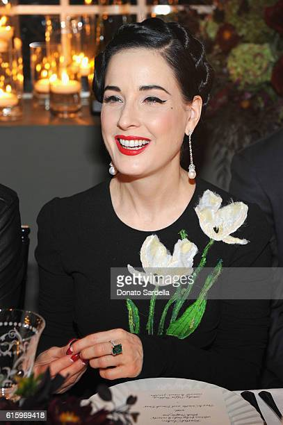 f8e73fd0a966 Model Dita Von Teese attends the Jo Malone London Girl dinner at Chateau  Marmont on October