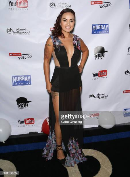 Model Dixie Miranda attends Murray SawChuck's 100000 YouTube subscriber party at Planet Hollywood Resort Casino on June 28 2017 in Las Vegas Nevada