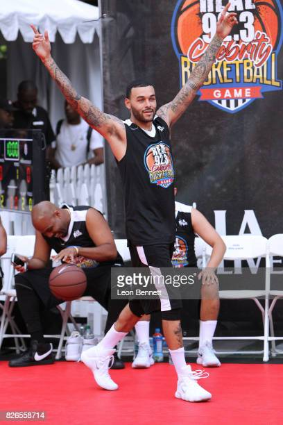 Model Don Benjamin attends Real 923 Celebrity Basketball Game To Kick Off 9th Annual Nike Basketball 3ON3 Tournament Weekend at LA LIVE Microsoft...