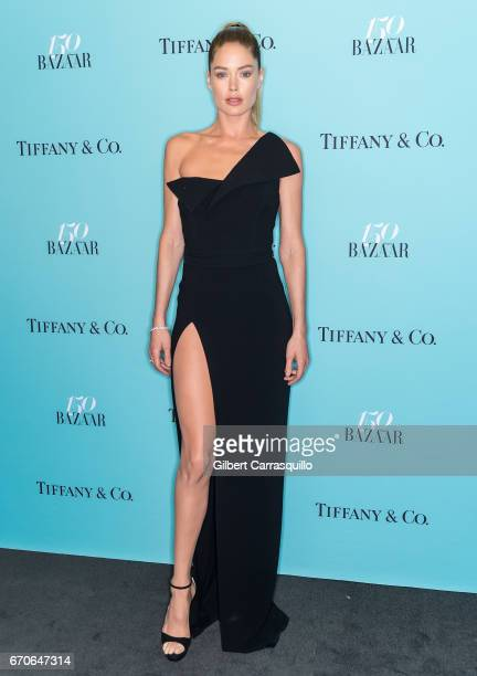 Model Doutzen Kroes attends Harper's BAZAAR 150th Anniversary Event presented with Tiffany Co at The Rainbow Room on April 19 2017 in New York City