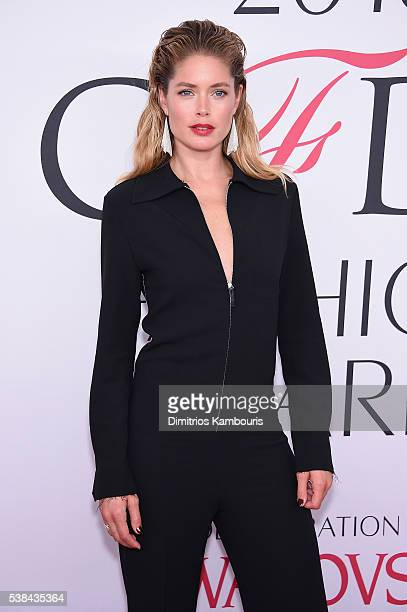 Model Doutzen Kroes attends the 2016 CFDA Fashion Awards at the Hammerstein Ballroom on June 6 2016 in New York City