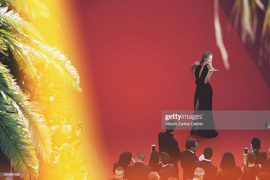Alternative View - The 69th Annual Cannes Film Festival : News Photo