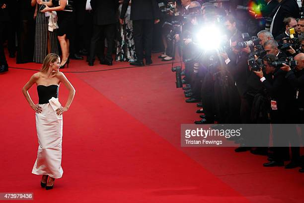 Model Doutzen Kroes attends the Premiere of 'Sicario' during the 68th annual Cannes Film Festival on May 19 2015 in Cannes France