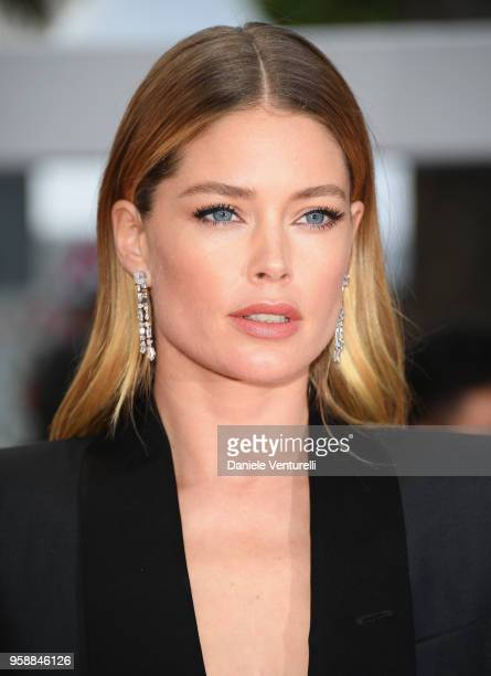 Model Doutzen Kroes attends the screening of Solo A Star Wars Story during the 71st annual Cannes Film Festival at Palais des Festivals on May 15...