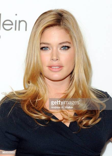 Model Doutzen Kroes attends the Women's Fall 2010 Calvin Klein Collection after party on February 18 2010 in New York City
