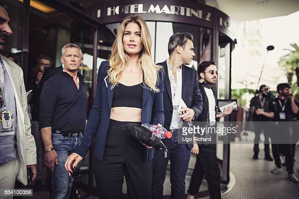 Model Doutzen Kroes is photographed for Gala on May 15 2016 in Cannes France