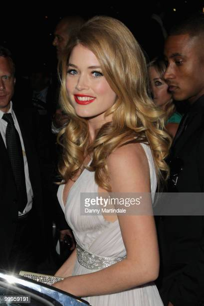 Model Doutzen Kroes is seen attending the 63rd Cannes Film Festival on May 18 2010 in Cannes France
