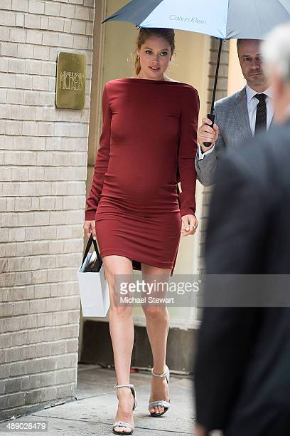 Model Doutzen Kroes seen on the streets of Manhattan on May 9 2014 in New York City