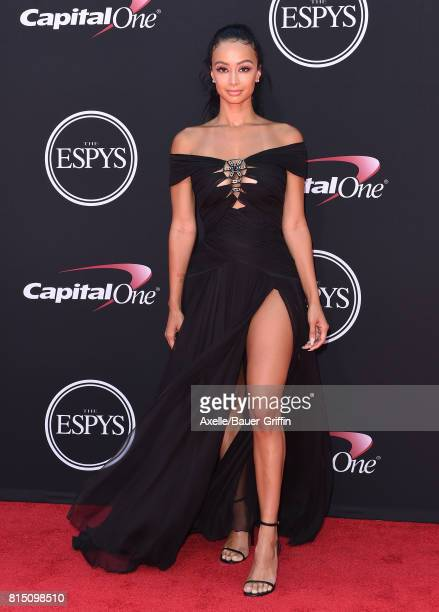 Model Draya Michele arrives at the 2017 ESPYS at Microsoft Theater on July 12 2017 in Los Angeles California