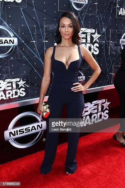 Model Draya Michelle arrived at the BET Make A Wish Foundation Recipients BET Experience At LA Live Red Carpet arrivals Weekend Events on June 28...