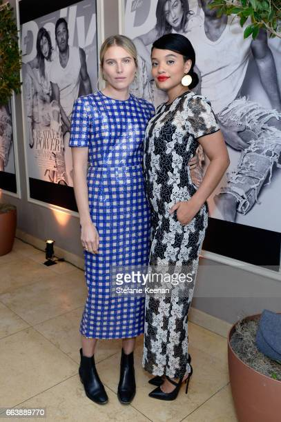 Model Dree Hemingway and actor Kiersey Clemons attend the Daily Front Row's 3rd Annual Fashion Los Angeles Awards at Sunset Tower Hotel on April 2...