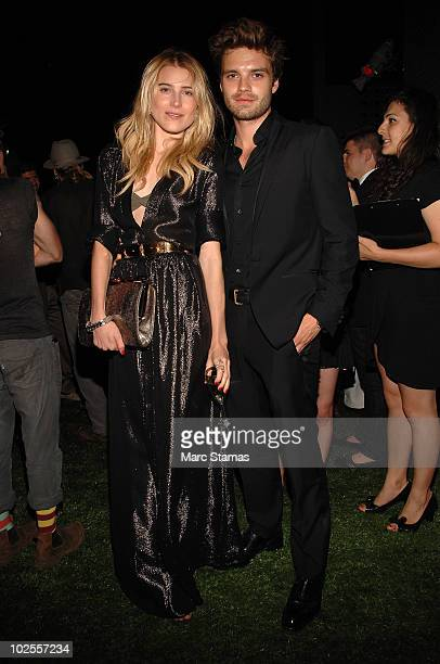 Model Dree Hemingway and Sebastian Stan attend Salvatore Ferragamo's 'Attimo' fragrance launch party>> at The Standard on June 30 2010 in New York...
