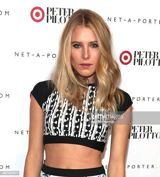 Model Dree Hemingway attends Peter Pilotto For Target Launch at Gotham Hall on February 6, 2014 in New York City.