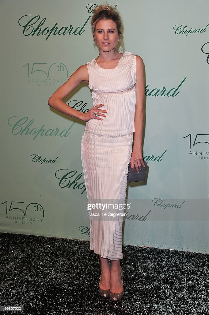 Model Dree Hemingway attends the Chopard 150th Anniversary Party at Palm Beach, Pointe Croisette during the 63rd Annual Cannes Film Festival on May 17, 2010 in Cannes, France.