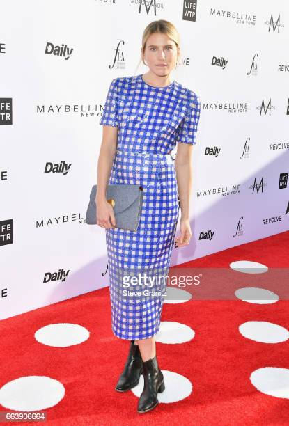 Model Dree Hemingway attends the Daily Front Row's 3rd Annual Fashion Los Angeles Awards at Sunset Tower Hotel on April 2 2017 in West Hollywood...